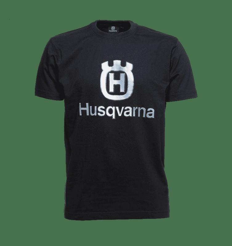 T-shirt met groot logo