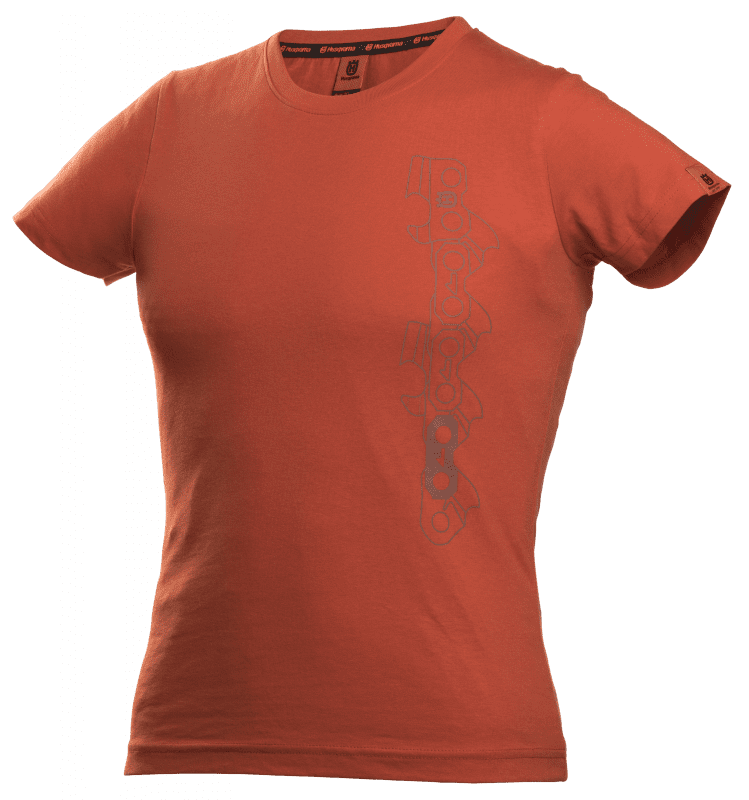 Xplorer T-shirt met korte mouwen dames x-cut ketting