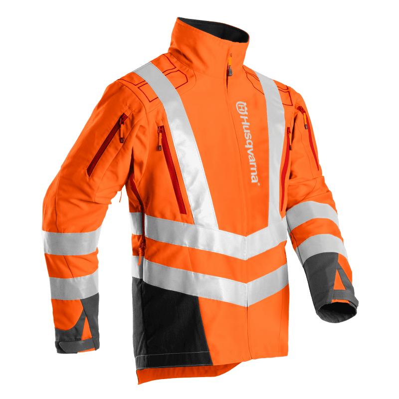 Brushcutting- and trimmer Jacket, High Viz