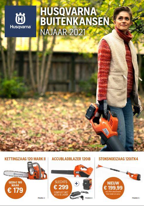 Brochures & Prijslijsten 2021 | Husqvarna platform Dealers Nederland |  Almere